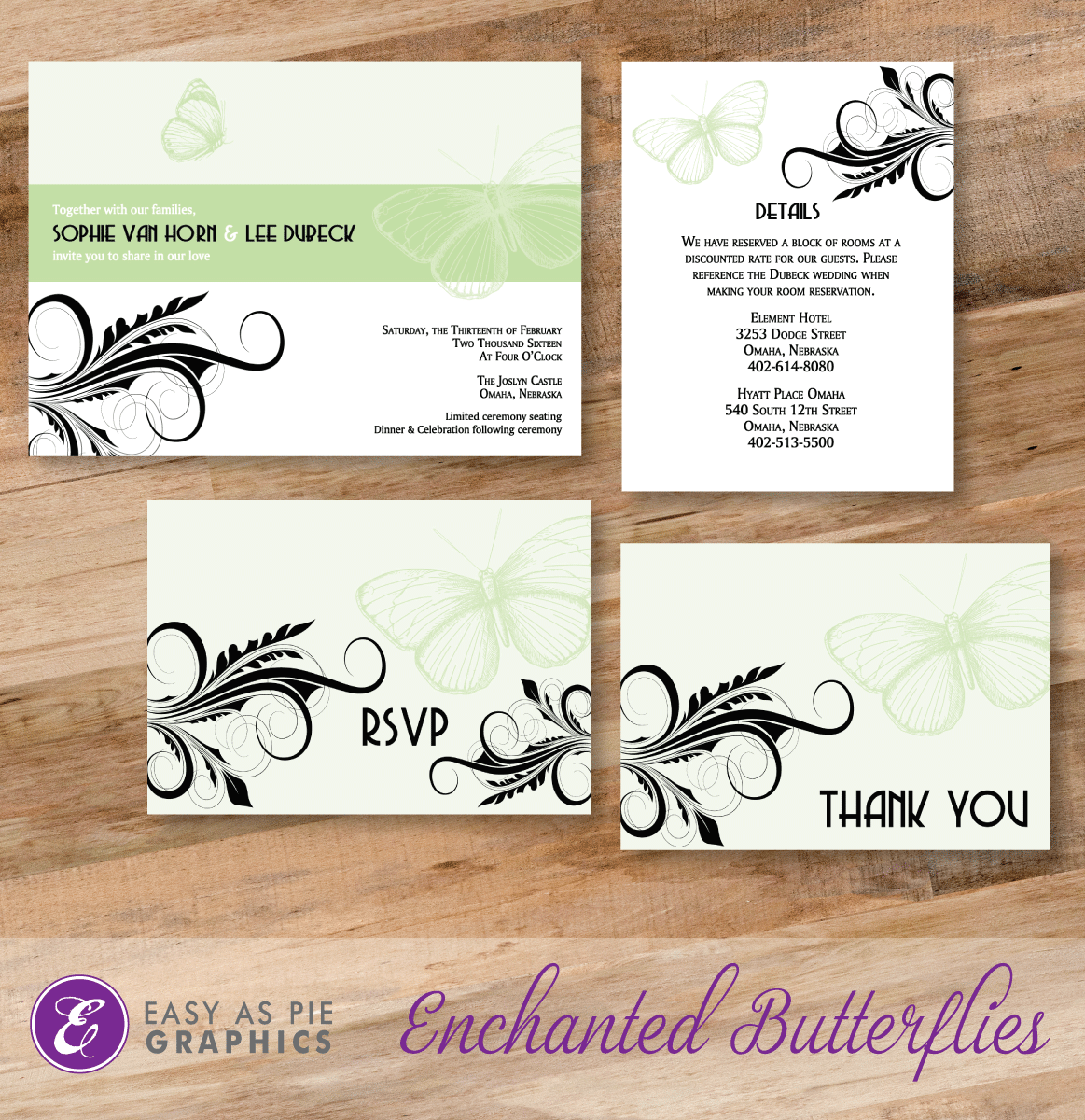 Enchanted Butterflies Wedding Suite