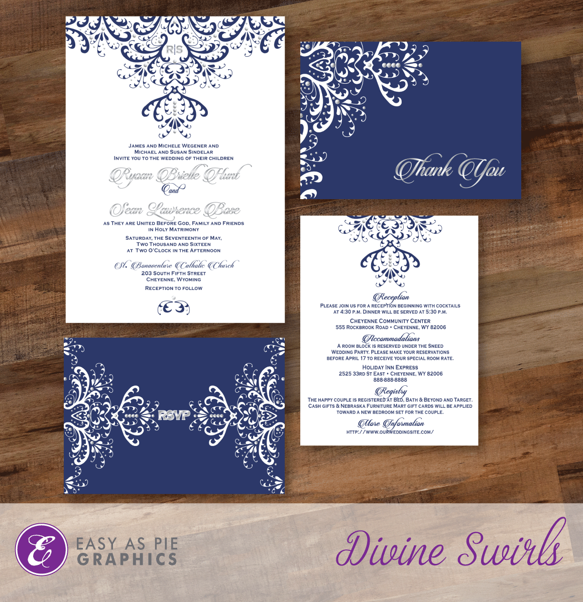 Divine Swirls Wedding Suite